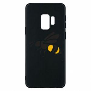 Phone case for Samsung S9 Bee in flight - PrintSalon