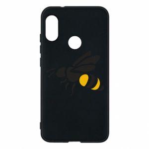 Phone case for Mi A2 Lite Bee in flight - PrintSalon