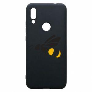 Phone case for Xiaomi Redmi 7 Bee in flight - PrintSalon