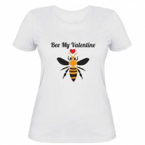 Damska koszulka Bee my Valentine