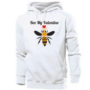 Men's hoodie Bee my Valentine