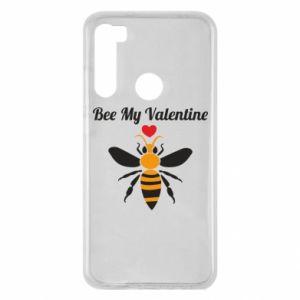 Xiaomi Redmi Note 8 Case Bee my Valentine