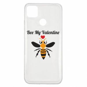 Xiaomi Redmi 9c Case Bee my Valentine