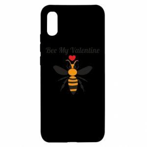 Xiaomi Redmi 9a Case Bee my Valentine