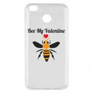 Xiaomi Redmi 4X Case Bee my Valentine