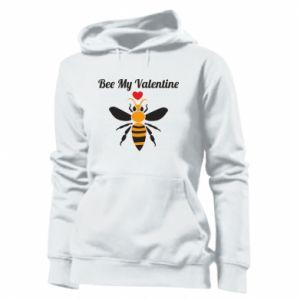 Women's hoodies Bee my Valentine
