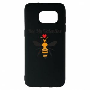 Samsung S7 EDGE Case Bee my Valentine
