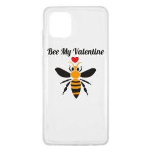 Samsung Note 10 Lite Case Bee my Valentine