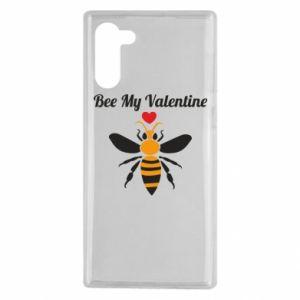 Samsung Note 10 Case Bee my Valentine