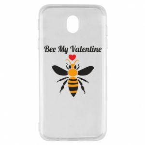 Samsung J7 2017 Case Bee my Valentine