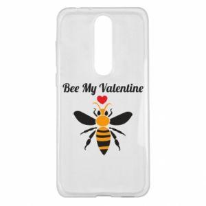 Nokia 5.1 Plus Case Bee my Valentine