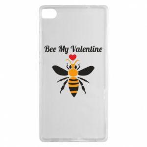 Huawei P8 Case Bee my Valentine