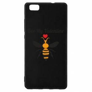 Huawei P8 Lite Case Bee my Valentine