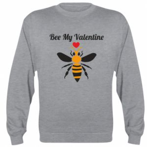 Sweatshirt Bee my Valentine