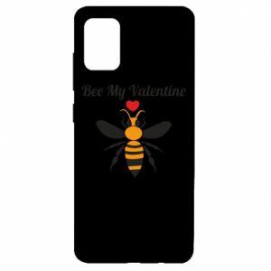 Etui na Samsung A51 Bee my Valentine