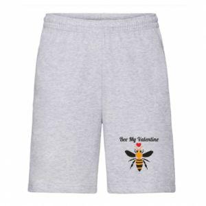 Men's shorts Bee my Valentine
