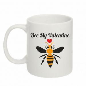 Kubek 330ml Bee my Valentine
