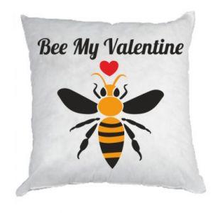 Poduszka Bee my Valentine