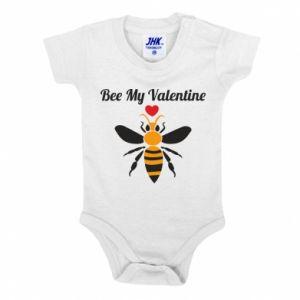Baby bodysuit Bee my Valentine