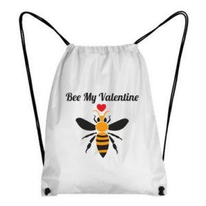 Backpack-bag Bee my Valentine