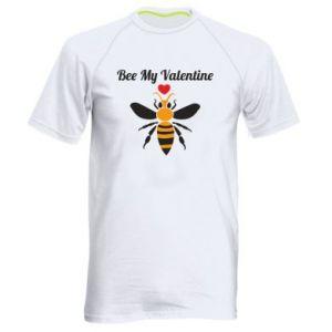Men's sports t-shirt Bee my Valentine