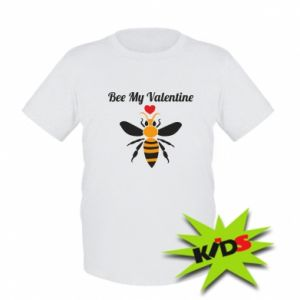 Kids T-shirt Bee my Valentine