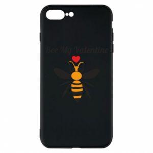 iPhone 7 Plus case Bee my Valentine