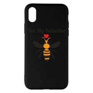 iPhone X/Xs Case Bee my Valentine