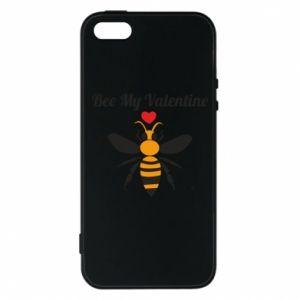 iPhone 5/5S/SE Case Bee my Valentine