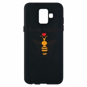 Samsung A6 2018 Case Bee my Valentine
