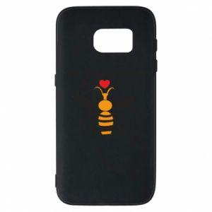 Samsung S7 Case Bee my Valentine