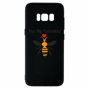 Samsung S8 Case Bee my Valentine