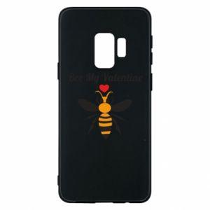Samsung S9 Case Bee my Valentine