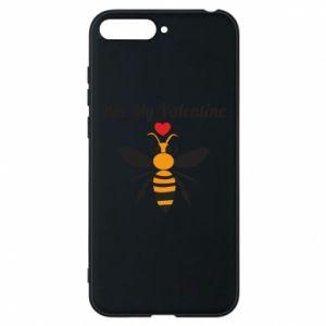 Huawei Y6 2018 Case Bee my Valentine