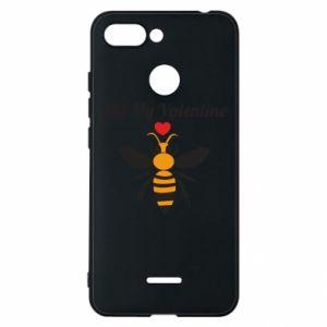 Xiaomi Redmi 6 Case Bee my Valentine