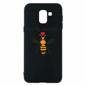 Samsung J6 Case Bee my Valentine
