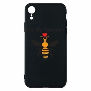 iPhone XR Case Bee my Valentine