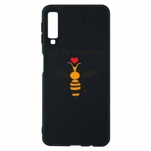 Samsung A7 2018 Case Bee my Valentine