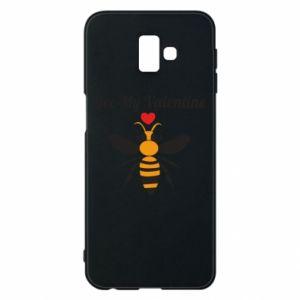 Samsung J6 Plus 2018 Case Bee my Valentine