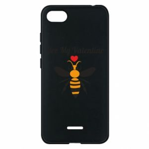 Xiaomi Redmi 6A Case Bee my Valentine