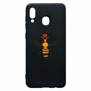 Samsung A20 Case Bee my Valentine