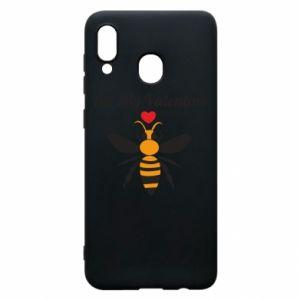 Samsung A30 Case Bee my Valentine