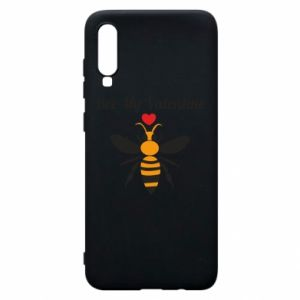 Samsung A70 Case Bee my Valentine