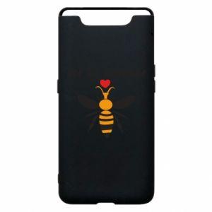 Samsung A80 Case Bee my Valentine