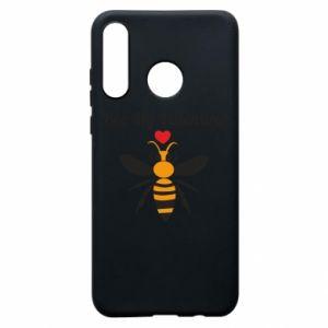 Huawei P30 Lite Case Bee my Valentine