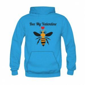 Kid's hoodie Bee my Valentine
