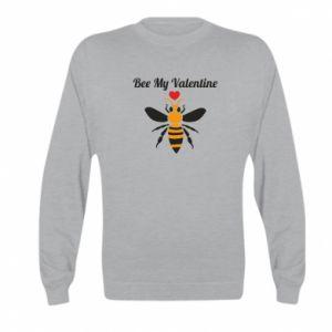 Kid's sweatshirt Bee my Valentine