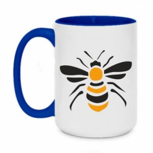 Kubek dwukolorowy 450ml Bee sitting