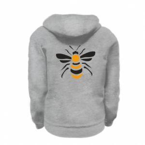 Bluza na zamek dziecięca Bee sitting