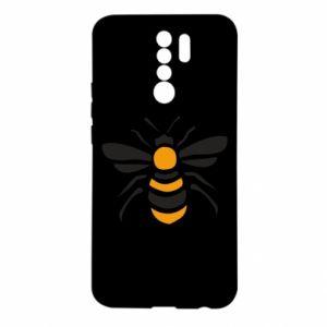 Etui na Xiaomi Redmi 9 Bee sitting